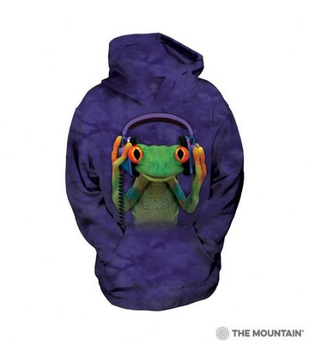 Kids Hoodies - DJ Peace Frog - The Mountain®